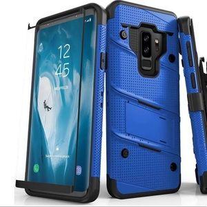 Bolt Samsung Galaxy S9 Plus Case Blue and Black